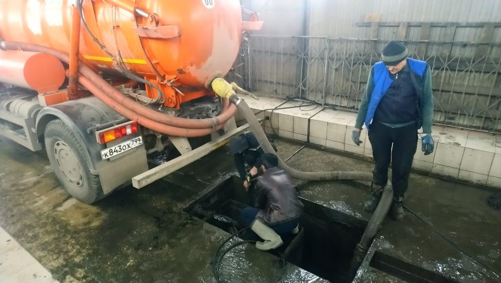 чистка грузовой автомойки